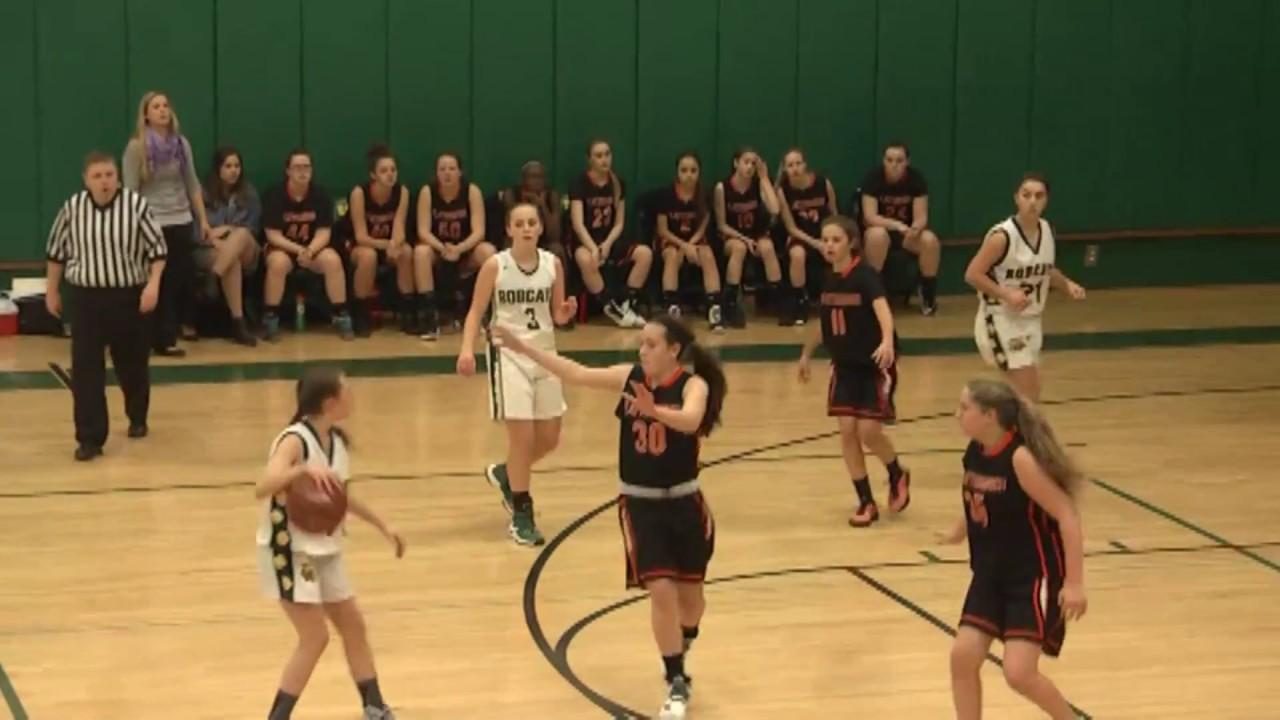 NAC - Plattsburgh JV Girls  1-13-17