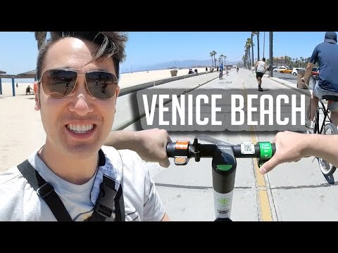 Renting Scooters At Venice Beach
