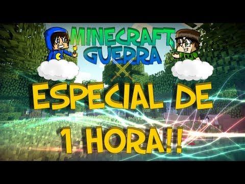 Minecraft Guerra 4: Parte 7 - 1 HORA! Carla e muito mais!
