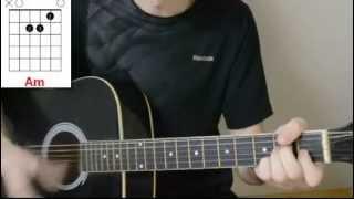 Песня под гитару! Милые зеленые глаза - Аккорды + разбор боя
