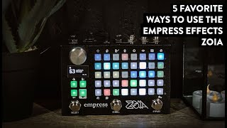 Empress Effects Zoia Demo (In Stereo - Please use Headphones)