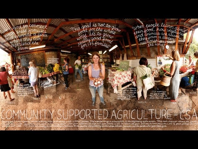 Community Supported Agriculture (CSAs) | The Lexicon of Sustainability | PBS Food