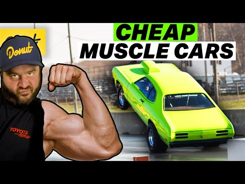10 Classic Muscle Cars You Can Still Buy CHEAP