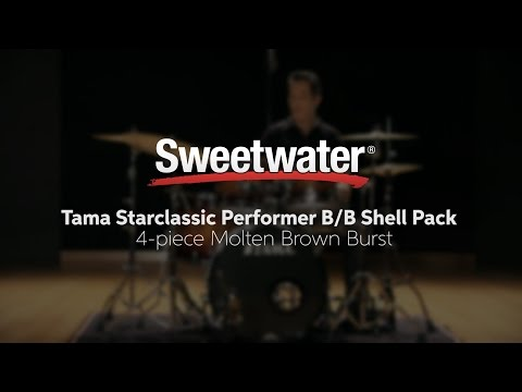 Tama Starclassic Performer B/B Shell Pack Review by Sweetwater