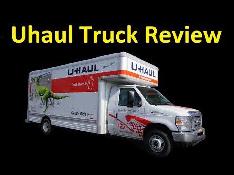 20 FOOT UHAUL RENTAL BOX VAN PODS ~ TRUCK REVIEW VIDEO HOW TO