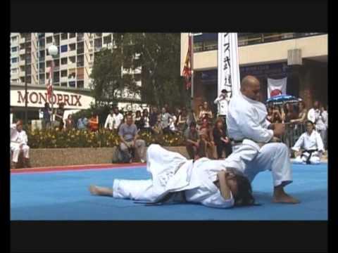 Hamdy El Marhomy Sensei demonstration Karate