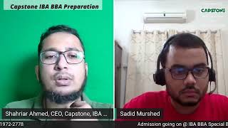 IBA BBA Admission preparation