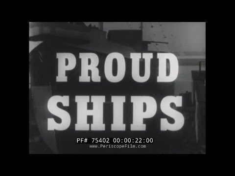 "SHELL OIL COMPANY OIL TANKER DOCUMENTARY ""PROUD SHIPS"" 75402"