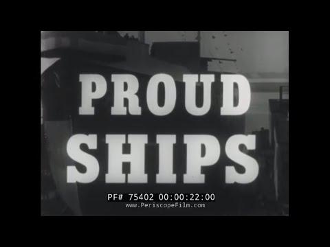"SHELL OIL COMPANY OIL TANKER DOCUMENTARY ""PROUD SHIPS"" 75402"