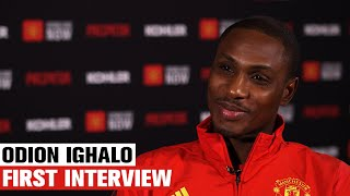 Odion Ighalo First Interview | Manchester United