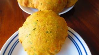 Masala Aloo Poori/ Tips to make crunchy, well puffed, evenly fried aloo poori|Poonam