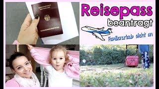 REISEPASS abgeholt   SALLYS WELT Bestellung   GARTENARBEIT   FamilyVlog #231