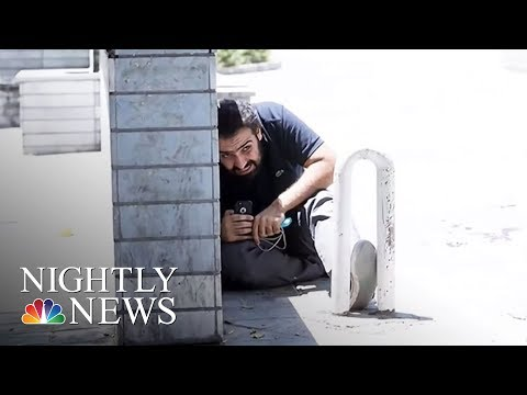 Twin Terror Attacks Hit Tehran, Killing At Least 12 | NBC Nightly News