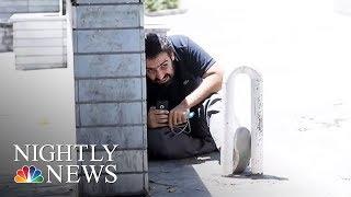 Twin Terror Attacks Hit Tehran, Killing At Least 12 | NBC Nightly News