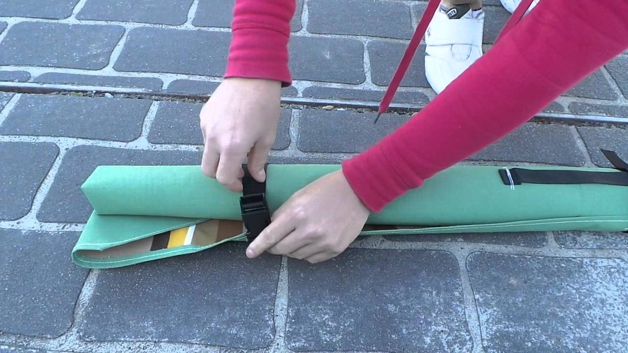 Supex Canvas Tent Poles and Fishing Rods Wrap & Supex Canvas Tent Poles and Fishing Rods Wrap - YouTube