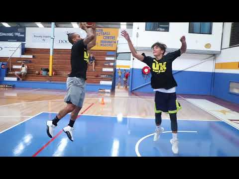 Jerome Randle basketball clinic in Sydney