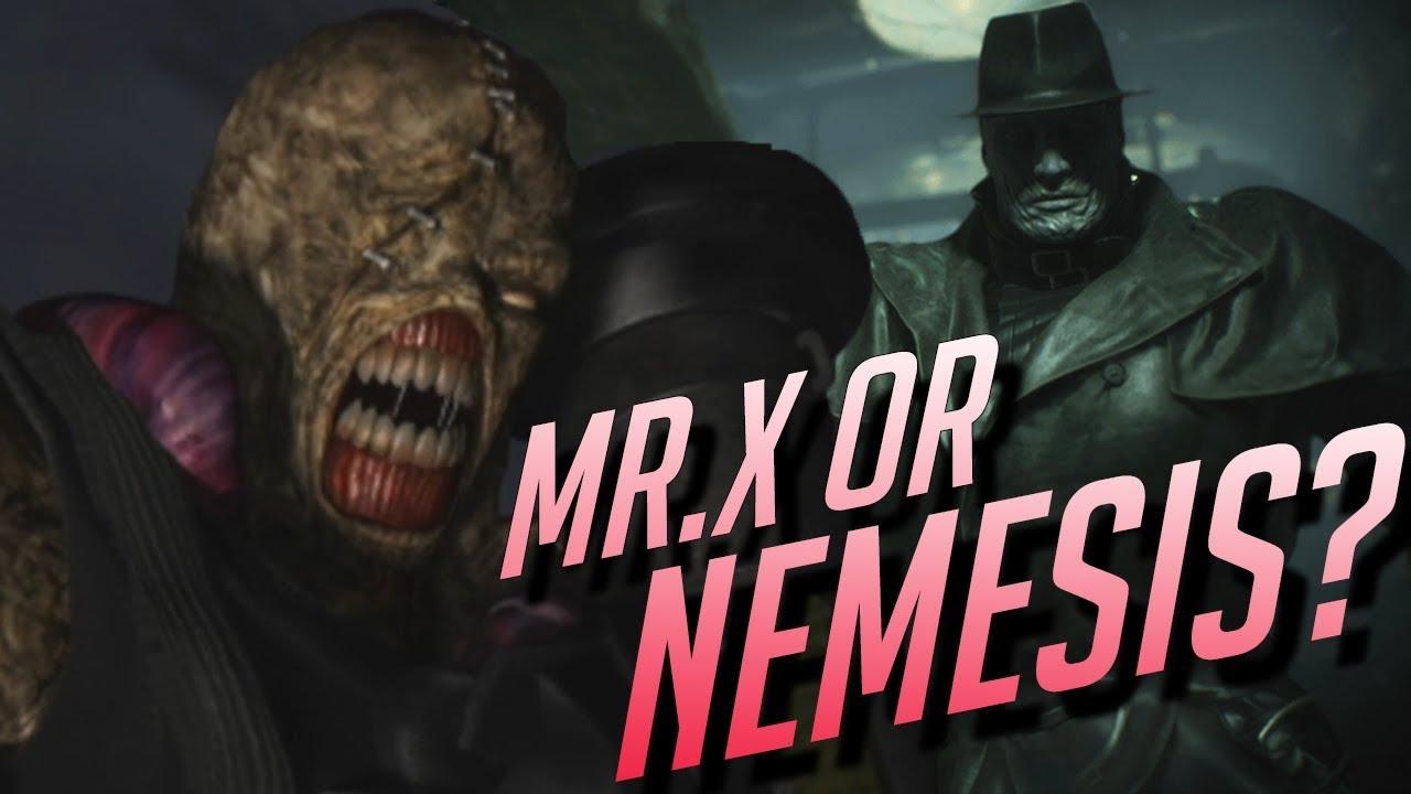 Mr X Resident Evil 2 Remake Analysis Mr X Or Nemesis Youtube