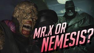 Mr X Resident Evil 2 Remake Analysis - (Mr X or Nemesis)