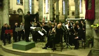"""Musique de film """"the Rock"""" par l'orchestre d'harmonie de Lannilis"""