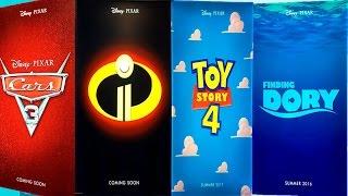 fecha de estrenos de toy story 4 los increibles 2 buscando a dory coco y cars 3
