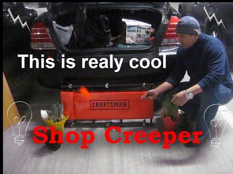 Craftsman 4 Position Headrest Shop Creeper