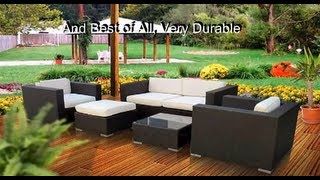 Patio Wicker Furniture The Best Outdoor Furniture Sets