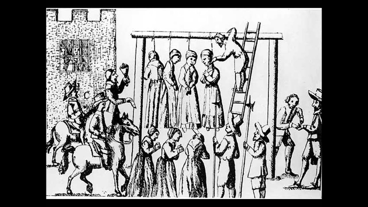 MACABRE HISTORY: Salem Witch Trials 1692 - YouTube