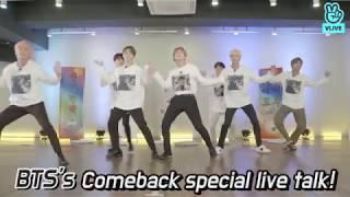 vuclip [V LIVE] BTS's Comeback Special Live Talk! – EN