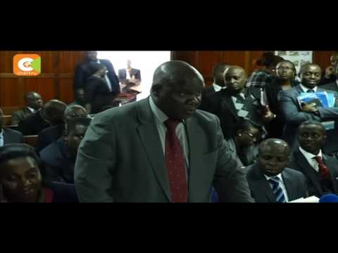 DPP presents final reports on probe into murder of lawyer Kimani, 2 others