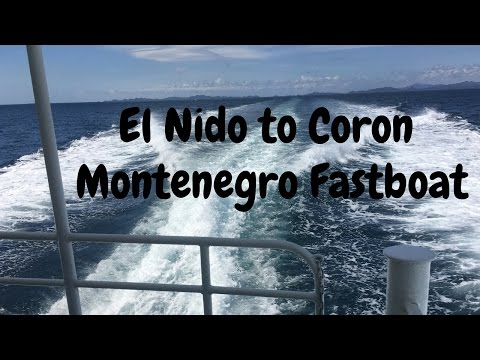 How To Get From El Nido to Coron via the Fastboat