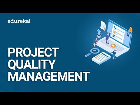 Project Quality Management PMBOK® 6 | Project Quality Control | PMP® Training Videos | Edureka