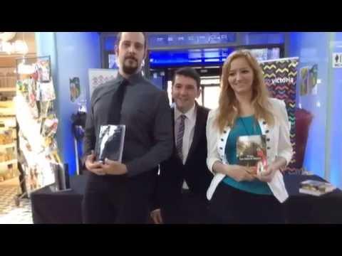 Presentación del libro El Gen Las ruinas de Magerit en Mercado de la Victoria Córdoba YouTube1
