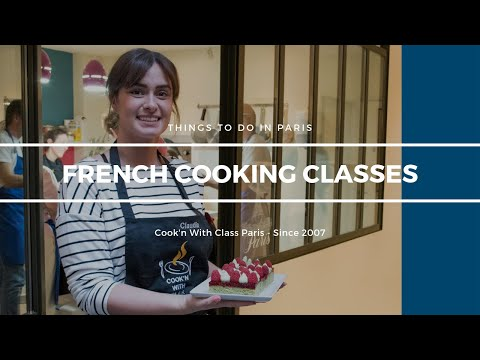 French Cooking Classes in Paris. Bake bread, visit markets, macarons . . .Cook'n With Class Paris.