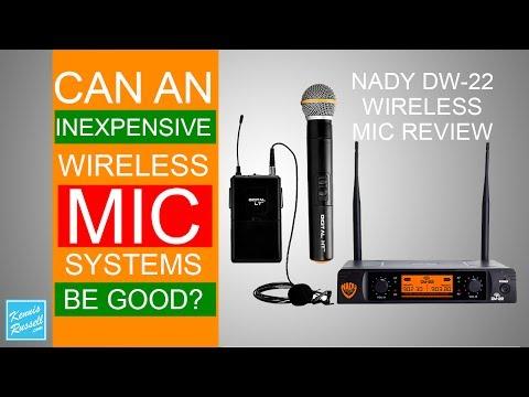 Nady DW-22 Wireless Mic System Review -
