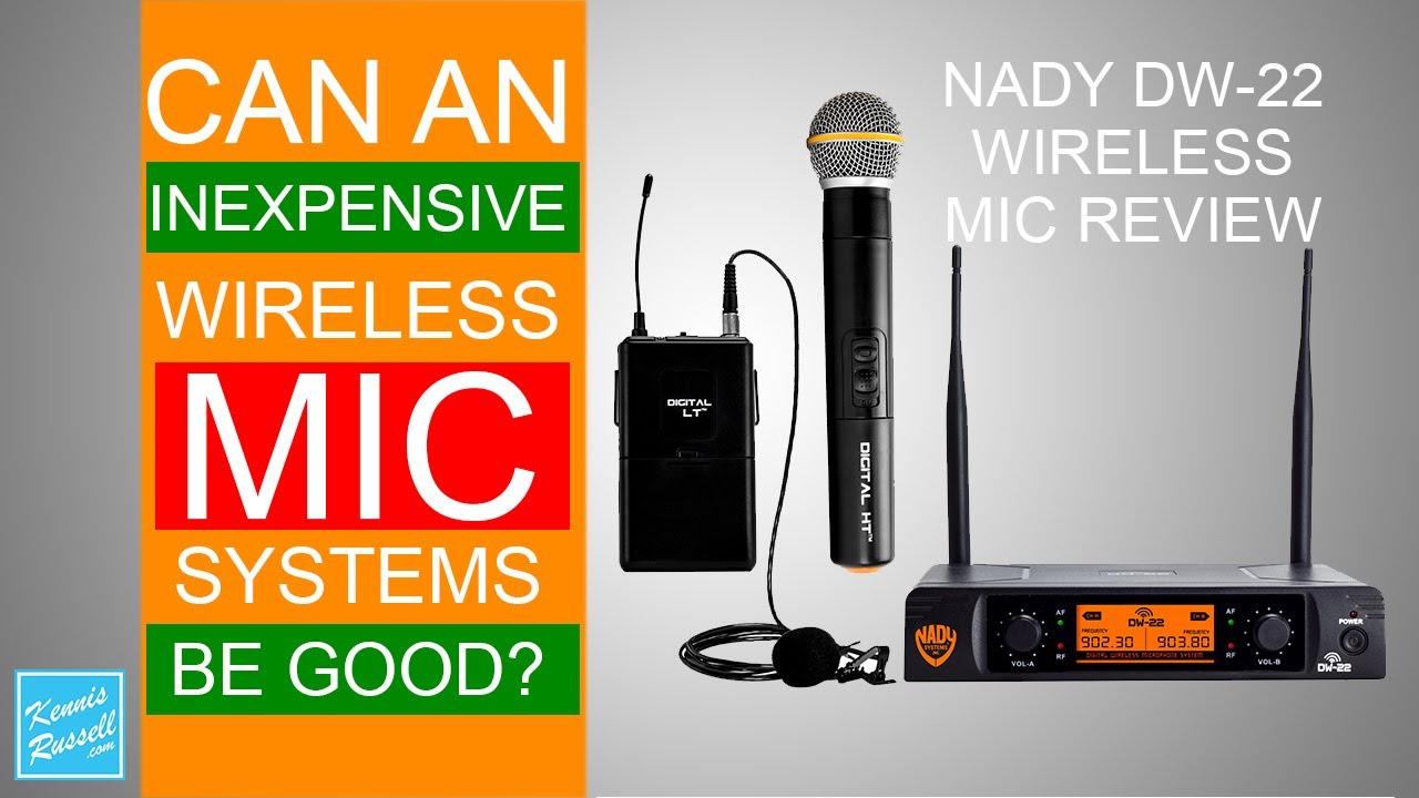 nady dw 22 wireless mic system review youtube. Black Bedroom Furniture Sets. Home Design Ideas