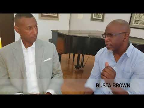Busta Brown interviews retired Senior Special Agent Bobby F. Kimbrough Jr. for The Chronicle