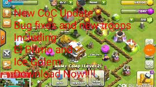 CoC New Update Preview