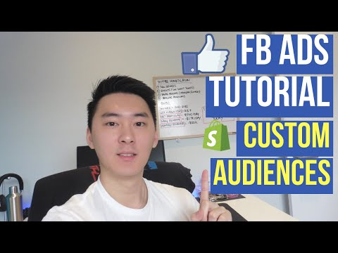 (2019) Facebook Ads Tutorial For Beginners: Custom Audiences (Part 1) | Dropshipping & E-commerce thumbnail