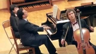 Франк Соната A Dur для скрипки виолончели и фортепиано