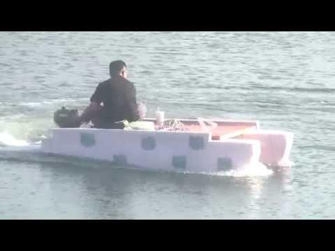 泡棉船 - YouTube