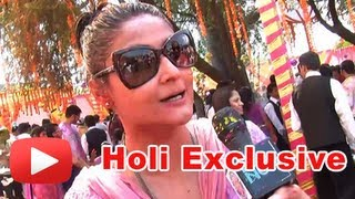 Bigg Boss 6 Winner Urvashi Dholakia Uncut Interview - Holi Exclusive
