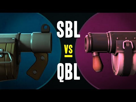 TF2 - The Stickybomb Launcher VS The Quickiebomb Launcher
