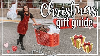 AFFORDABLE CHRISTMAS GIFT GUIDE 2018 | SHOPPING FOR GIFTS! #FaLaLaFridaysWithPage | Page Danielle