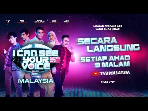 [LIVE] I Can See Your Voice Malaysia (Musim 3) Minggu 2 - Stacy Anam | #ICSYVMY