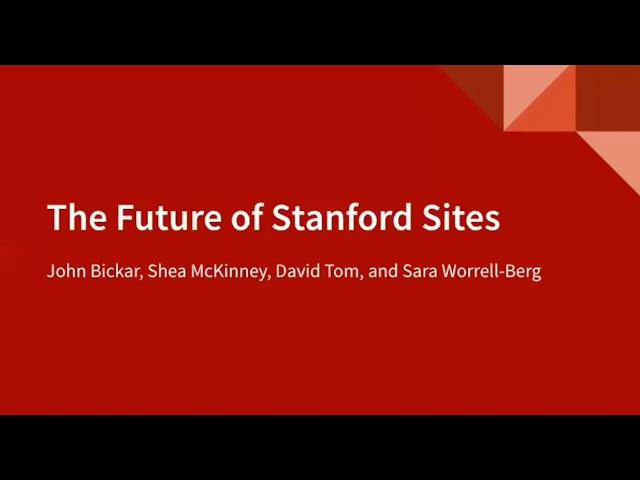 Stanford Design System/Decanter | Stanford WebCamp (Drupal