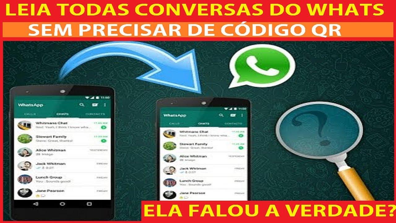 como espiar conversas no whatsapp