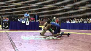 2014 Dino Invitational: 61 kg Dylan Bray vs. Dave Sharma