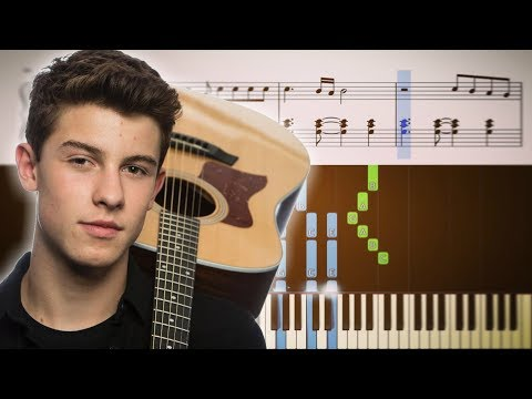 Shawn Mendes - Stitches - Piano Tutorial + Sheets