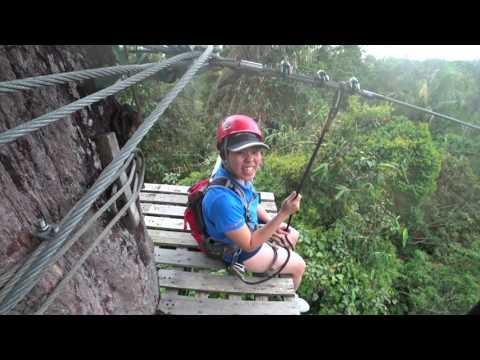 Flying Fox @ Bukit Tinggi