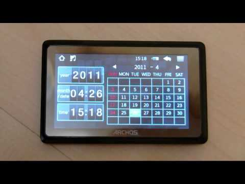 Archos 35 Vision MP3/MP4 Player (8 GB) First Impressions and Short Review